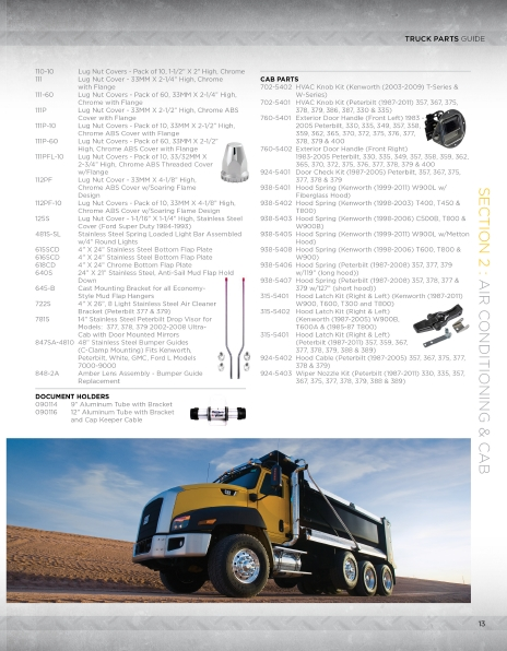 Butler Truck Parts Guide