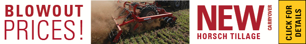 Blowout Pricing New Aged Horsch Tillage