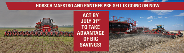 Horsch Maestro and Panther Pre-Sell