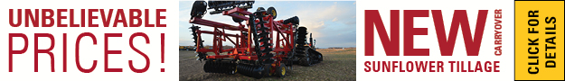 unbelievable Prices on New Aged Sunflower Tillage