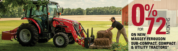 0% for 72 Months Massey Ferguson