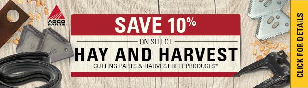 AGCO Hay Harvest 10%
