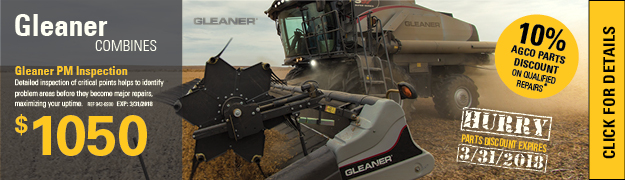 Gleaner Combine Planned Maintenance Inspection