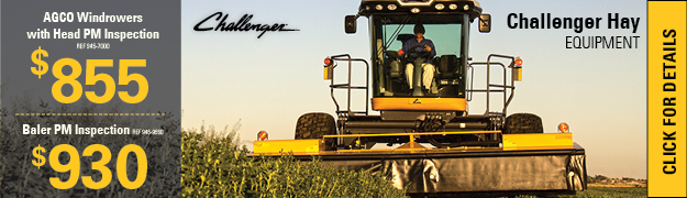 Planned Maintenance Inspections Challenger Hay Equipment