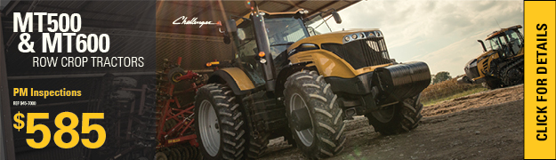 Planned Maintenance Inspections Row Crop tractors