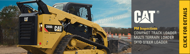 Planned Maintenance Inspections Cat Skid Steer Loader Multi Terrain Compact Track