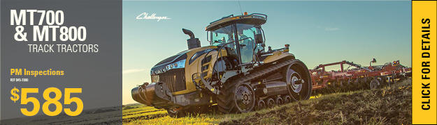 Planned Maintenance Inspections Track Tractors