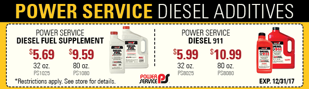 Power Service on sale