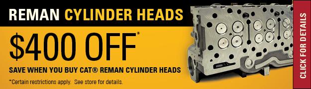 Cat Reman Cylinder Heads