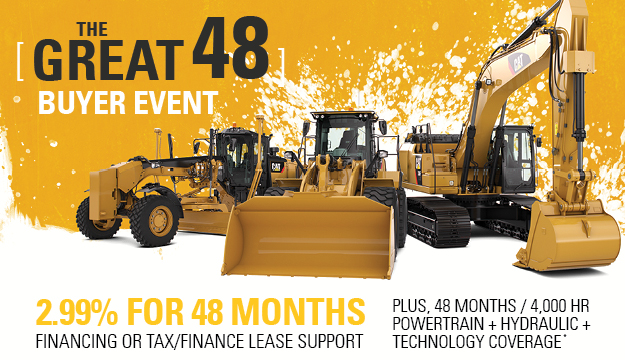 The Great 48 Event - 2.99% for 48 Months - Cat