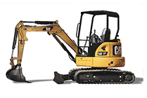 NEW CAT® MINI EXCAVATOR.