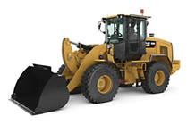 NEW CAT® SMALL WHEEL LOADER.