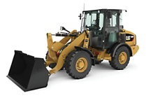 NEW CAT® COMPACT WHEEL LOADER.