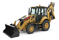 NEW CAT® BACKHOE LOADER.