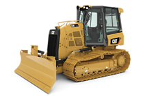 NEW CAT® SMALL DOZER.