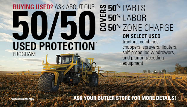 50/50 Used Equipment Protection Program